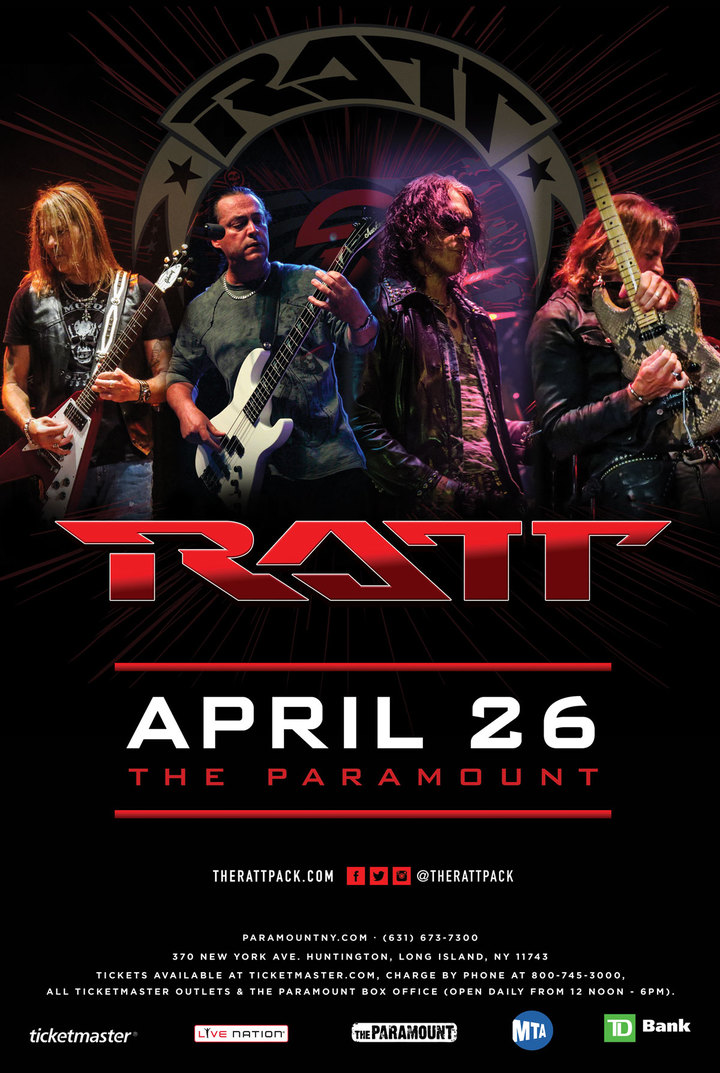 Ratt @ The Paramount - Huntington, NY