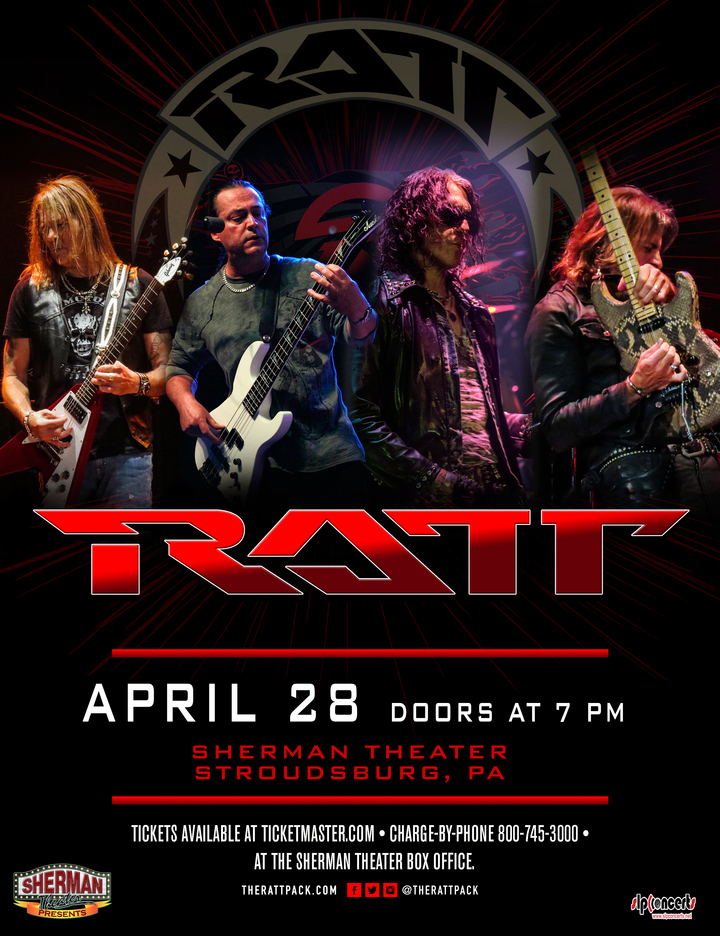 Ratt @ The Sherman Theater - Stroudsburg, PA