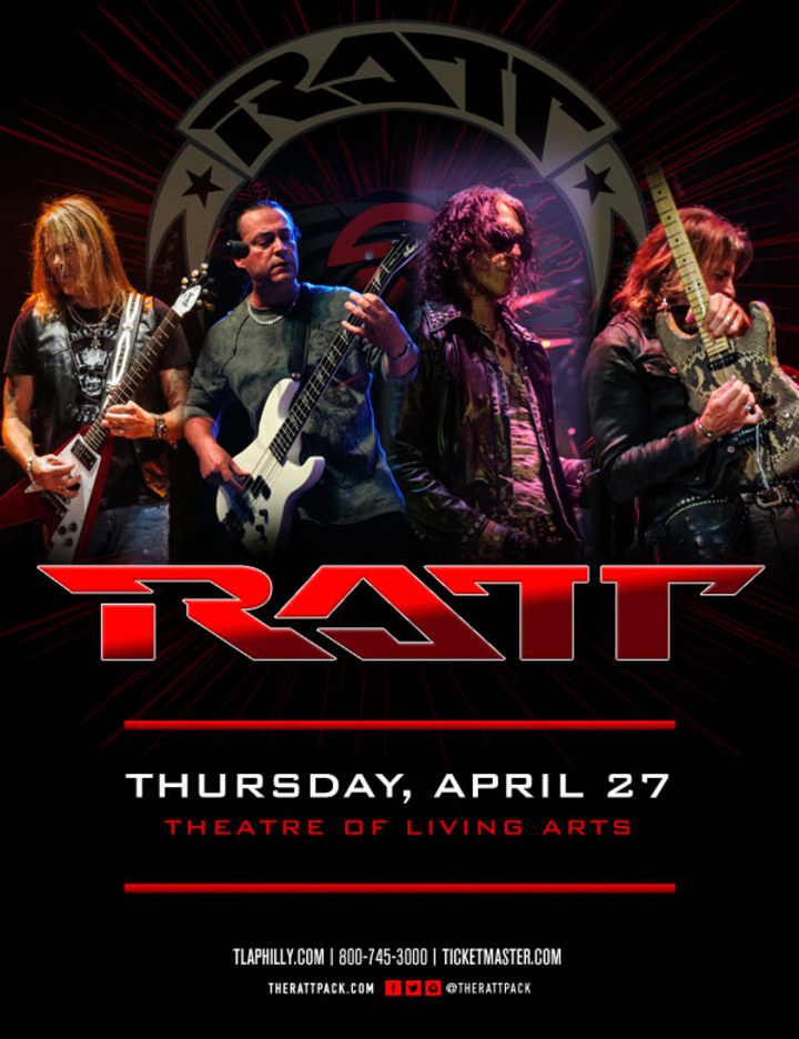 Ratt @ Theatre of Living Arts - Philadelphia, PA