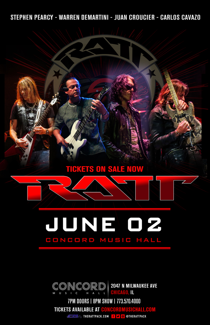 Ratt @ Concord Music Hall - Chicago, IL