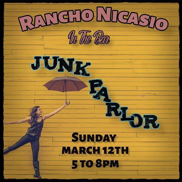 Junk Parlor Tour Dates