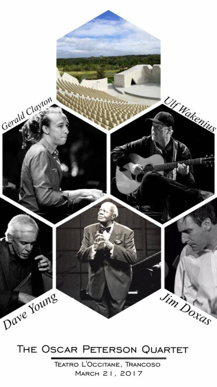 Gerald Clayton @ w/ Oscar Peterson Quartet @ Teatro L'Occitane - Trancoso, Brazil