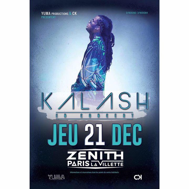 Kalash @ Le Bikini - Ramonville-St-Agne, France
