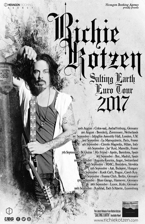 Richie Kotzen @ Frannz Club - Berlin, Germany
