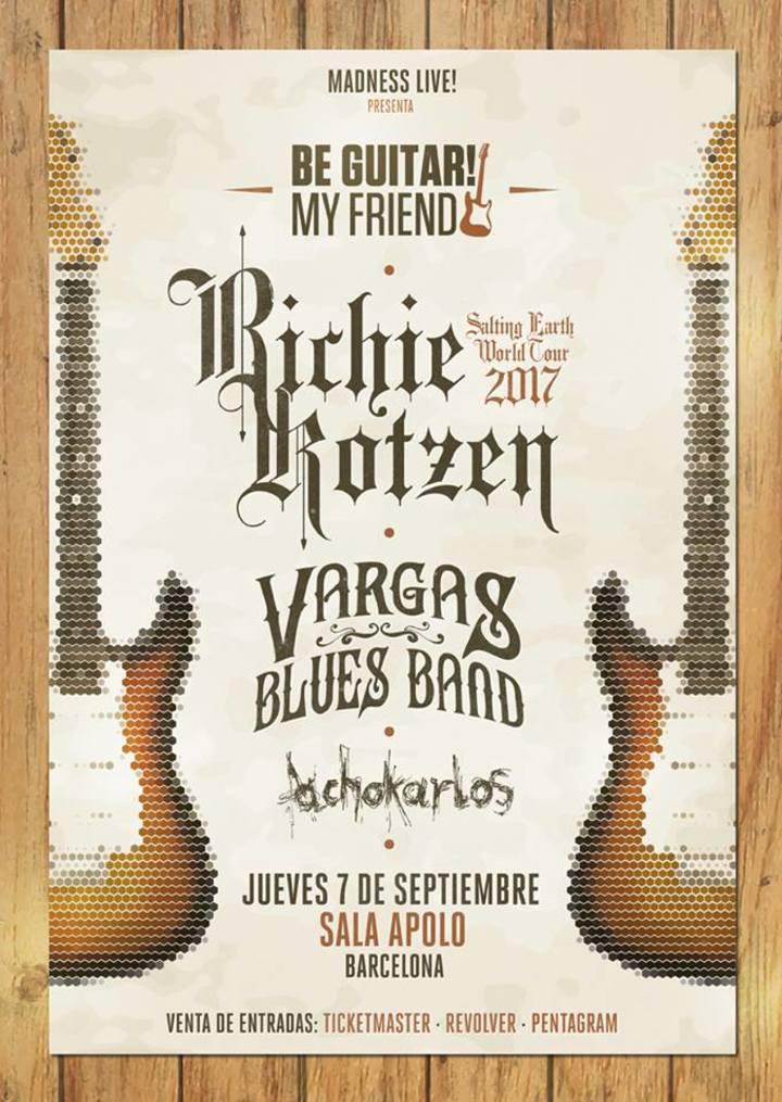 Richie Kotzen @ Be Guitar! My Friend / Apolo - Barcelona, Spain