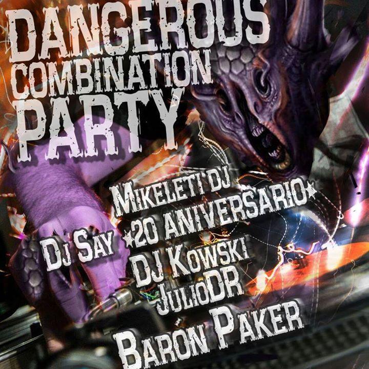 Dangerous Combination PARTY Tour Dates