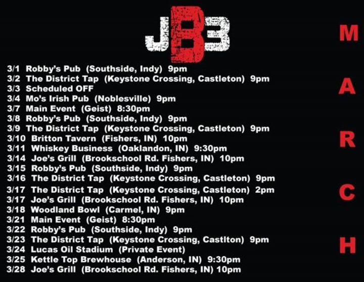 Jai Baker Tour Dates