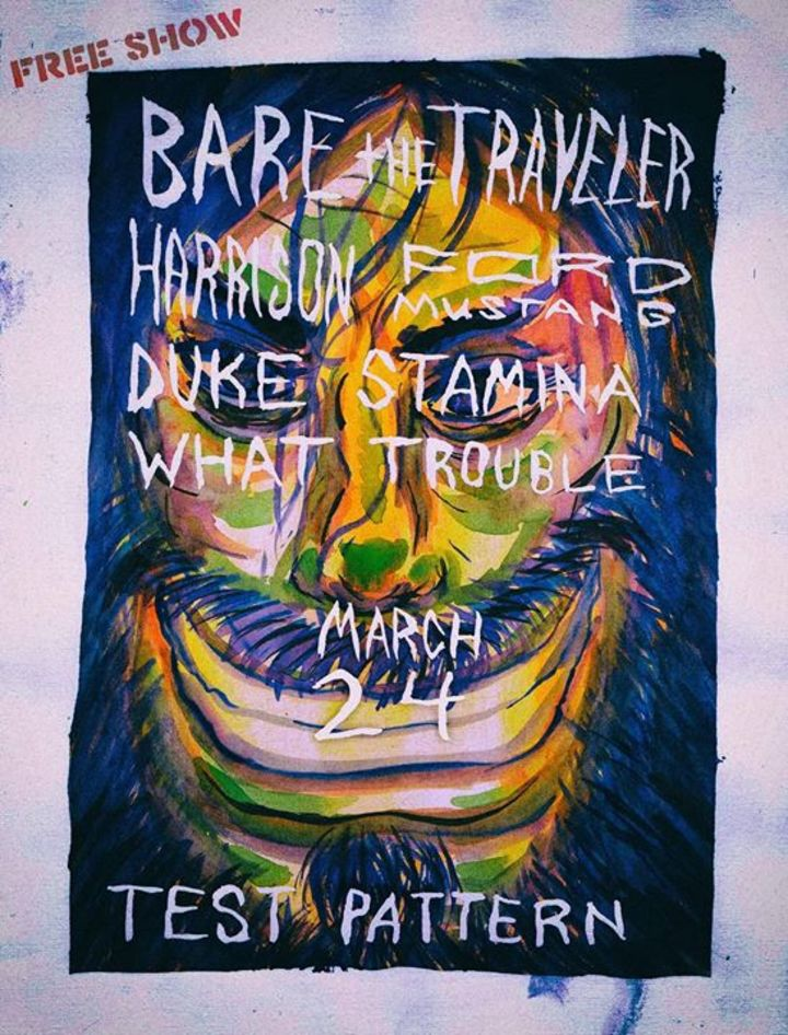Bare the Traveler Tour Dates
