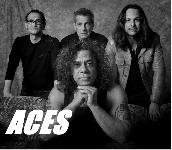ACES rockband @ Park West - Emmeloord, Netherlands