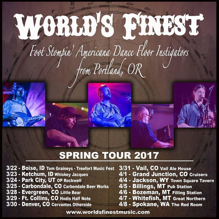 World's Finest Tour Dates