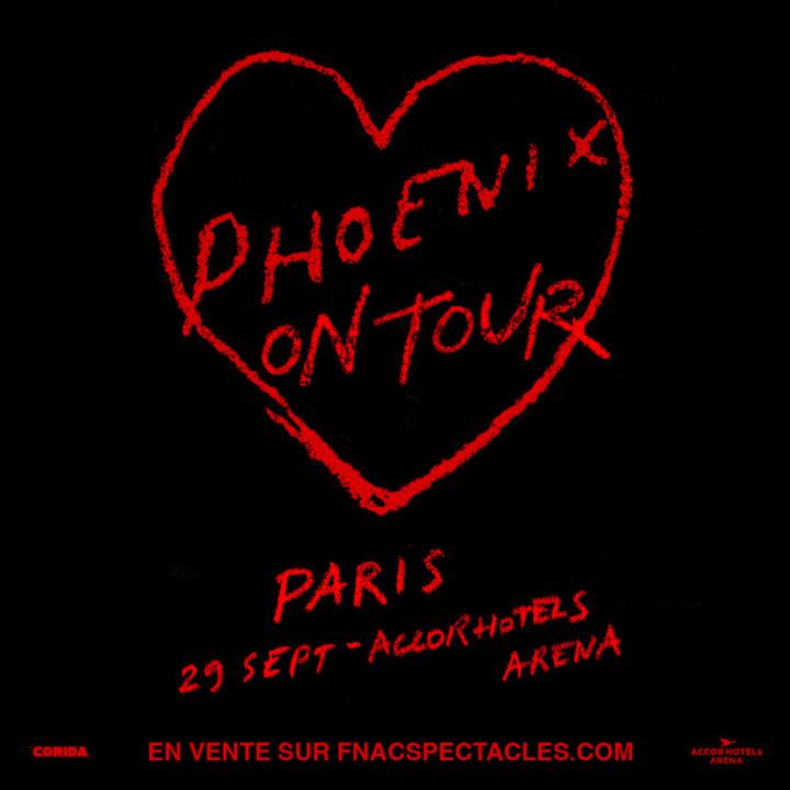 Phoenix @ AccorHotels Arena - Paris, France