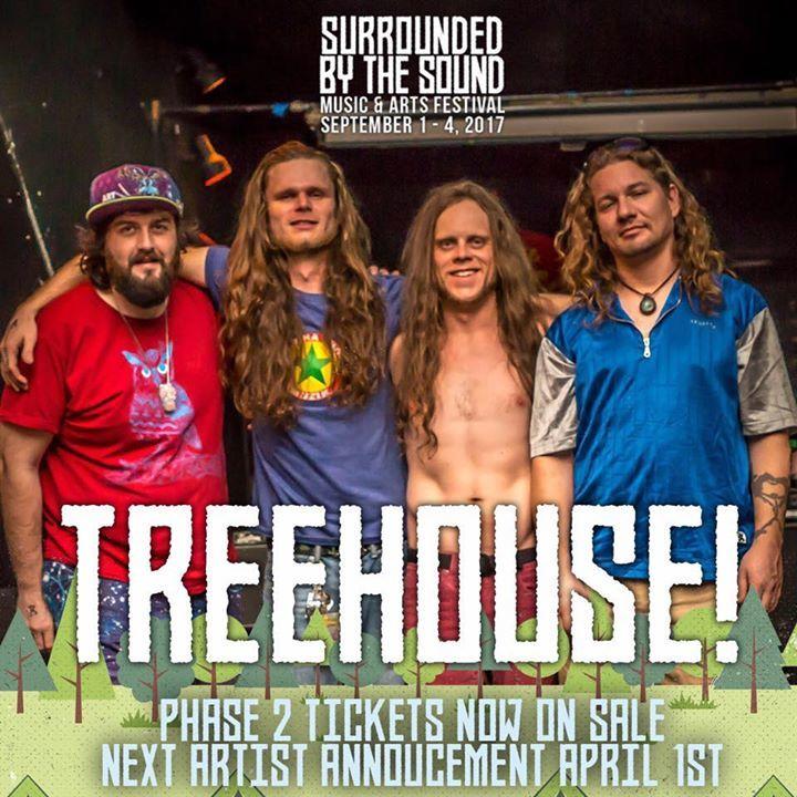 Treehouse Tour Dates