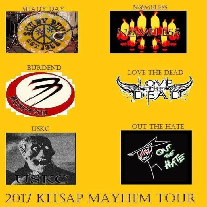 Burdend Tour Dates