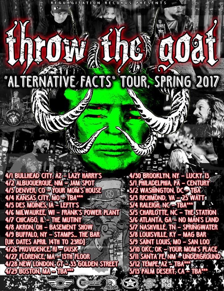 THROW THE GOAT Tour Dates
