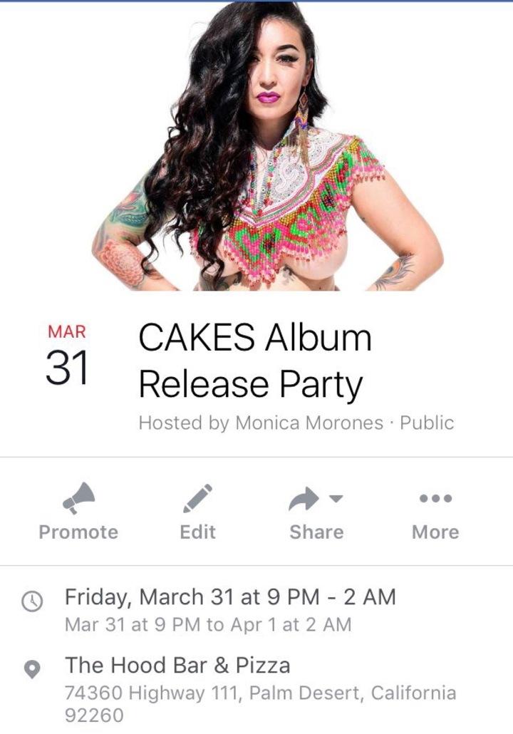 Cakes Tour Dates