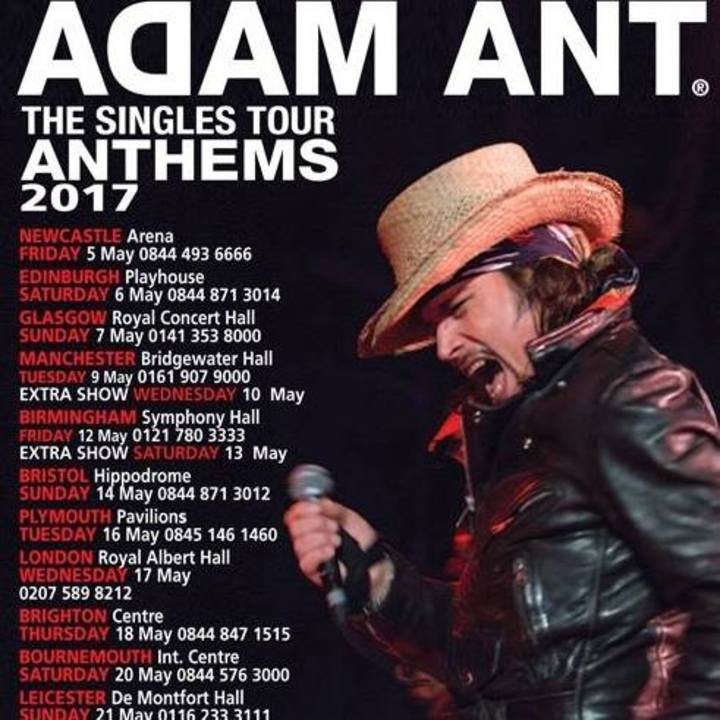 Adam Ant @ The Danforth Music Hall - Toronto, Canada