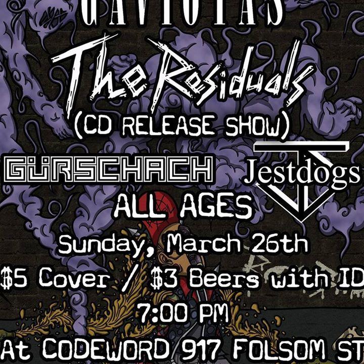 The Residuals Tour Dates