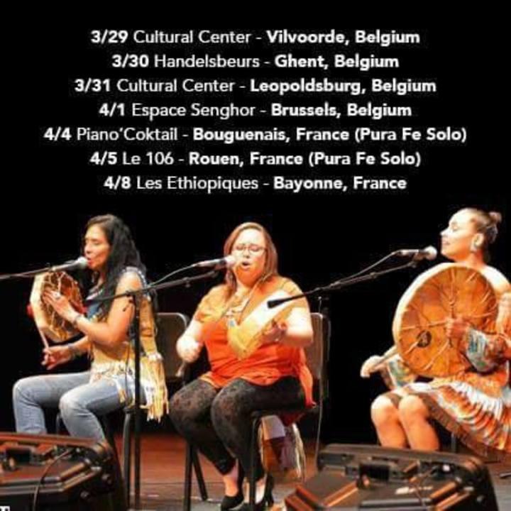 PURA FE TRIO Tour Dates