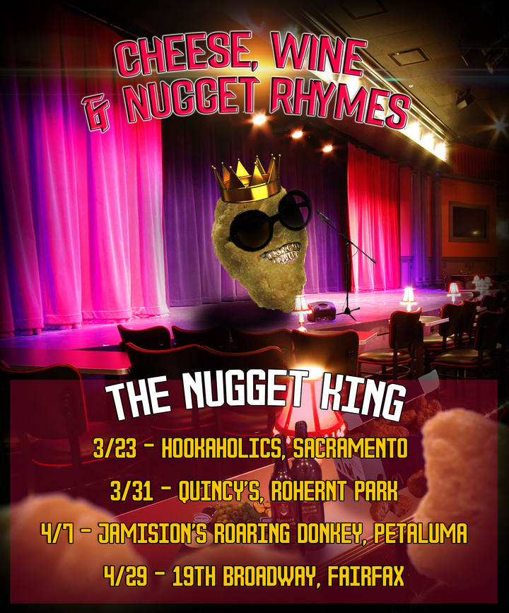 The Nugget King @ The Ivy Room  - Albany, CA