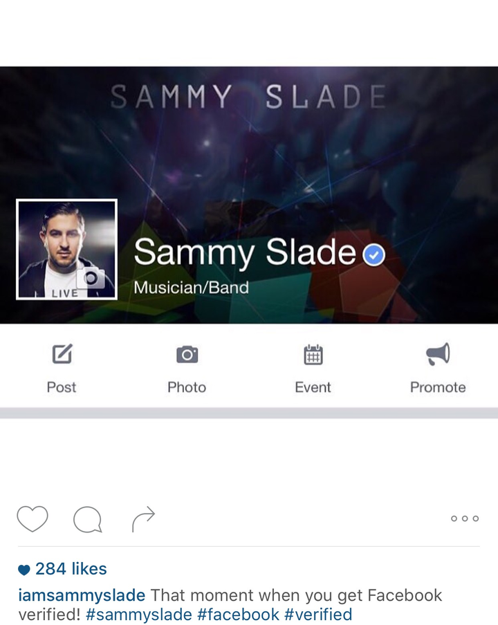 Sammy Slade Tour Dates
