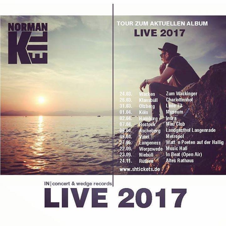 Norman Keil Tour Dates