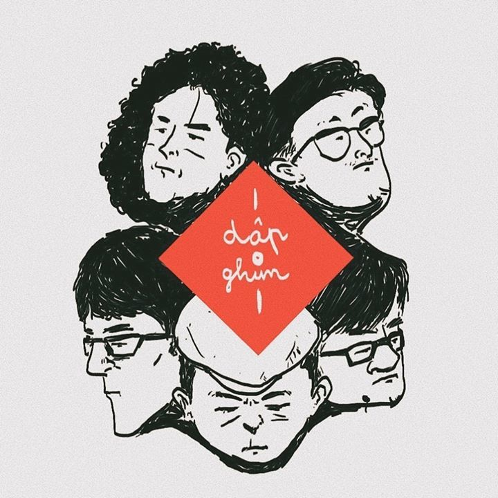 """Dập Ghim @ Dập Ghim Band - """"Hai thành phố"""" - Hanoi, Vietnam"""