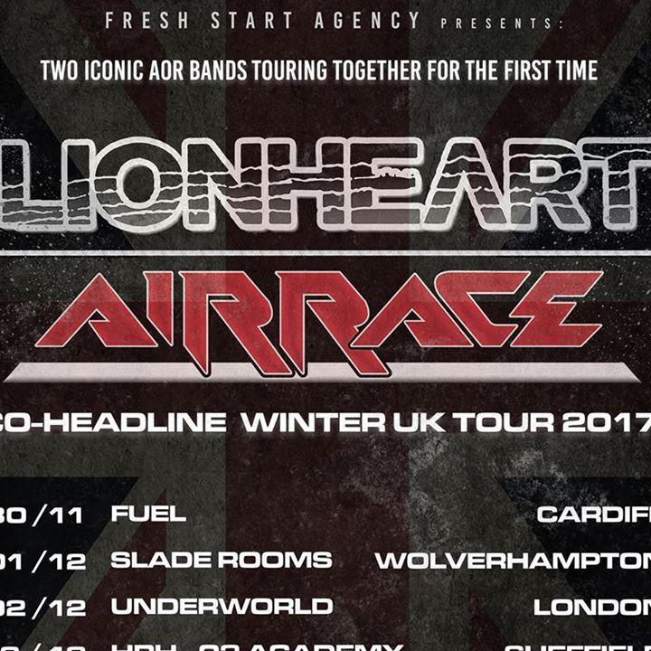 Airrace Tour Dates