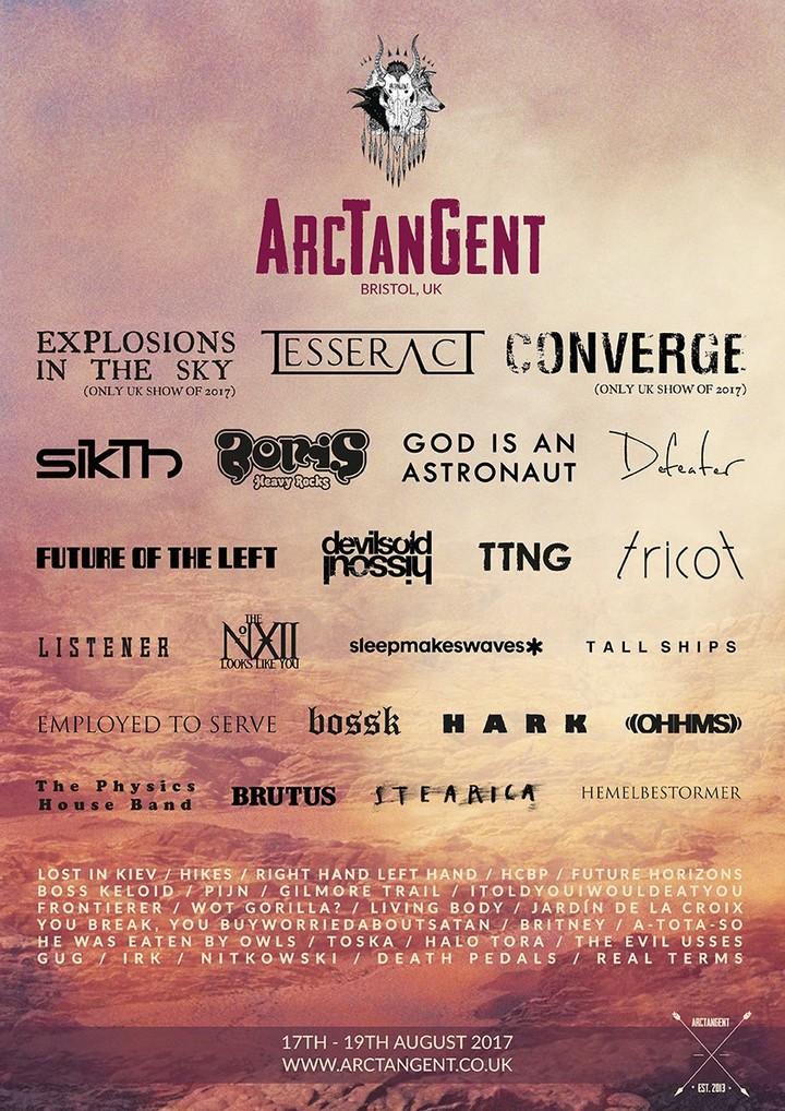 Hark @ ArcTangent Festival - Bristol, United Kingdom