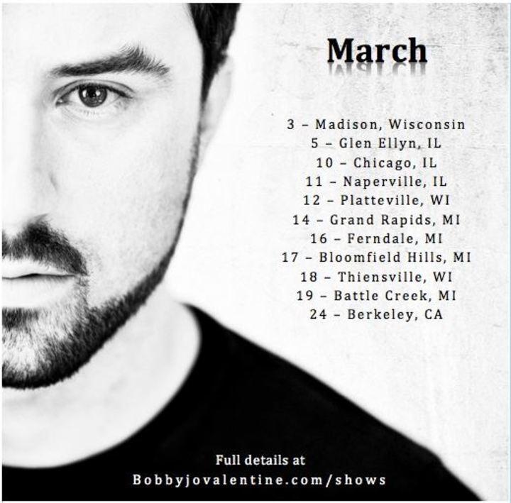 Bobby Jo Valentine Tour Dates