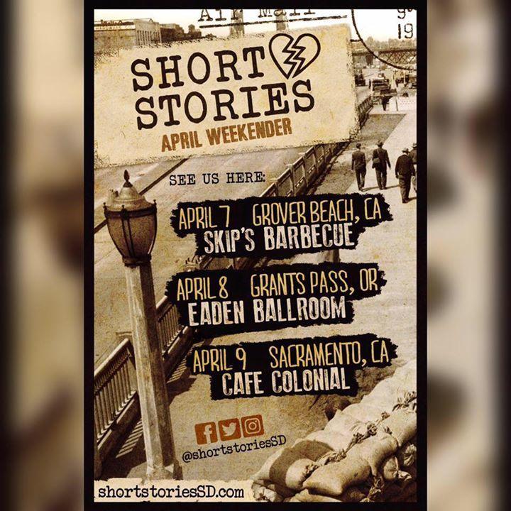 Short Stories Tour Dates
