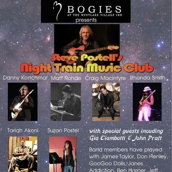 Night Train Music Club Tour Dates