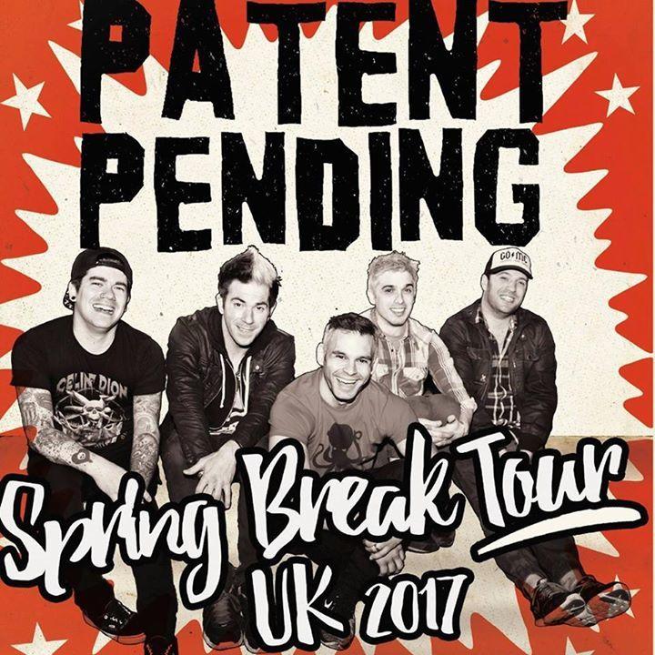 Patent Pending Tour Dates