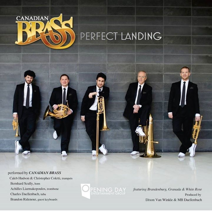 Canadian Brass @ Sheslow Auditorium Drake University - Des Moines, IA