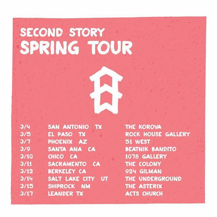 Second Story Tour Dates