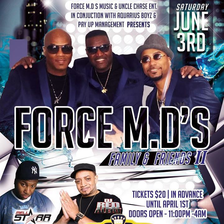 Force MD's Tour Dates