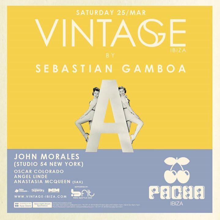 Sebastian Gamboa @ VINTAGE @ CDLC - Barcelona, Spain
