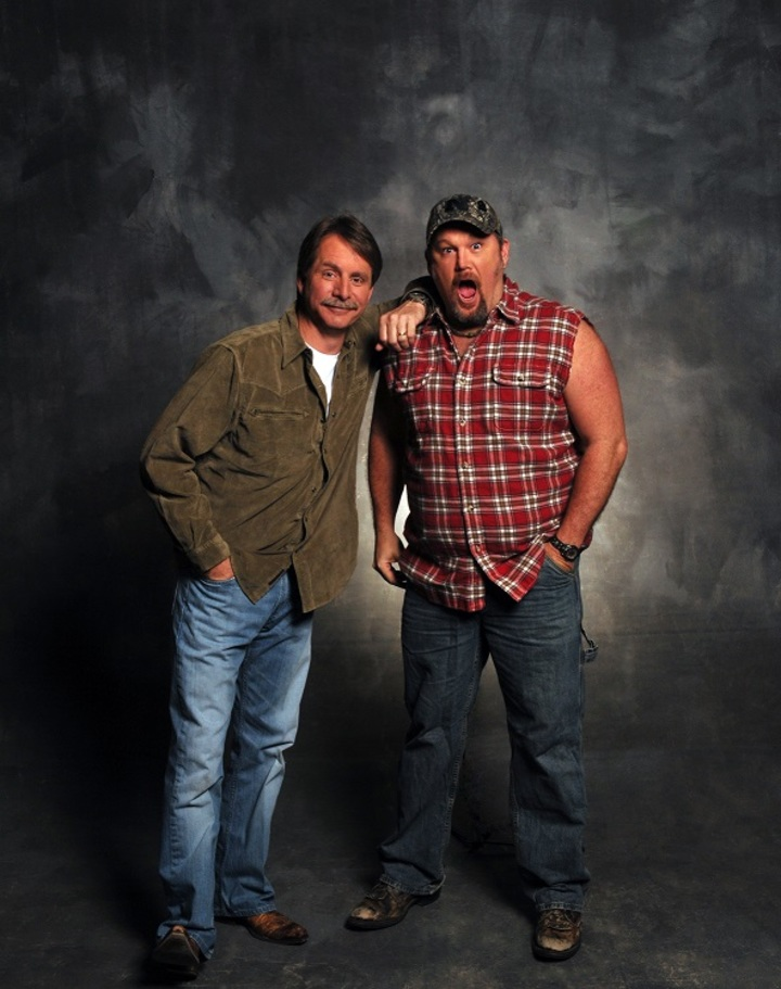 Larry the Cable Guy @ Erie County Fairgrounds - Hamburg, NY