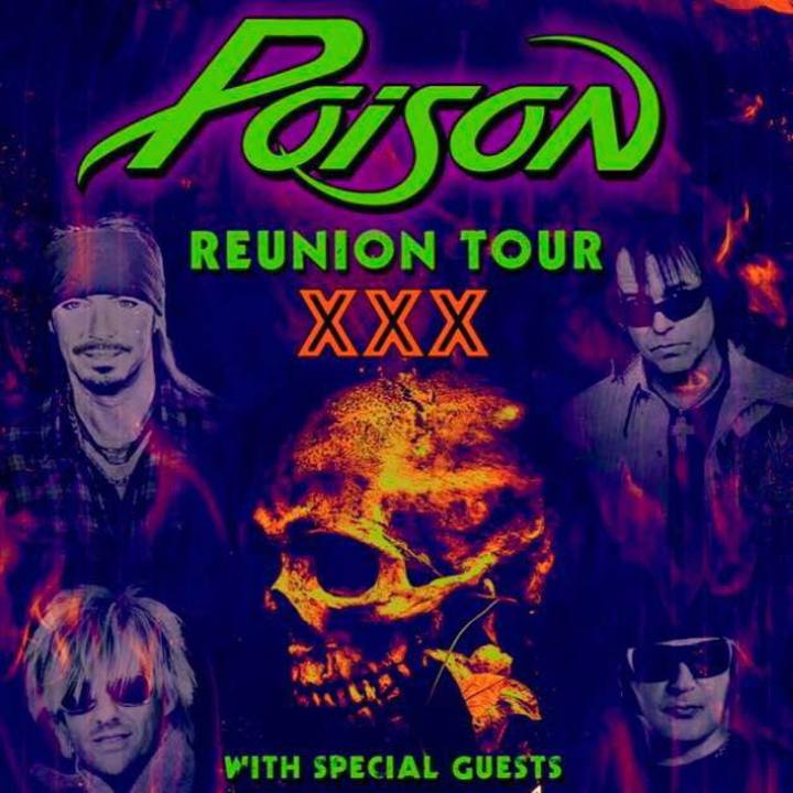 Poison's Fallen Angels Tour Dates