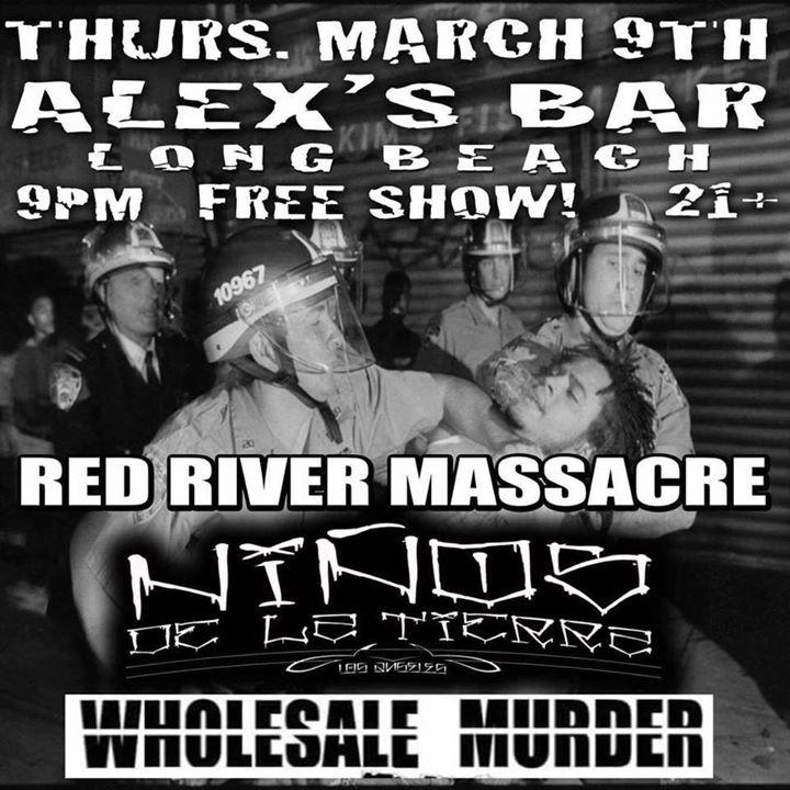 Red River Massacre Tour Dates