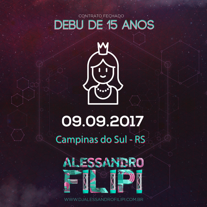 Dj Alessandro Filipi @ Clube Social - Campinas Do Sul, Brazil