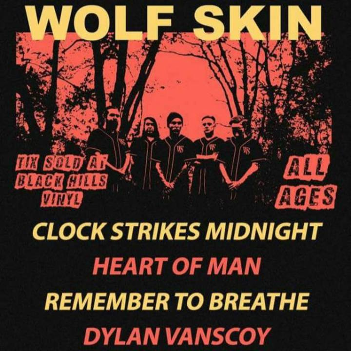 Heart Of Man Tour Dates