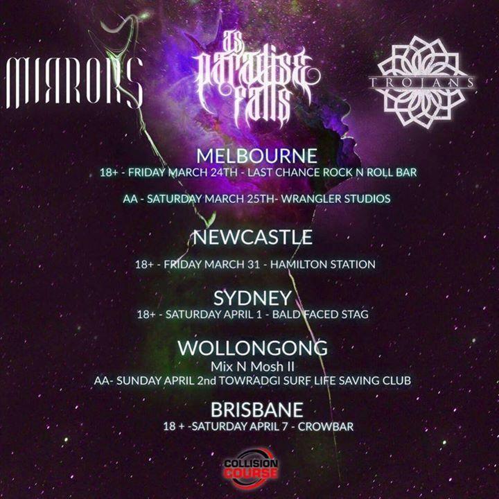 Trojans Tour Dates