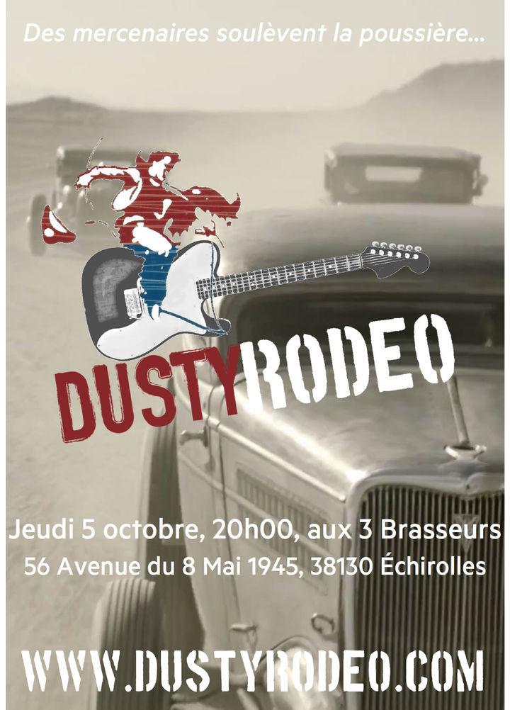 Dusty Rodeo @ Les 3 Brasseurs - Échirolles, France