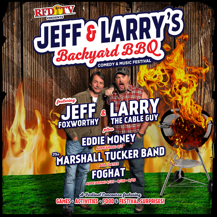 Larry the Cable Guy @ Klipsch Music Center - Noblesville, IN