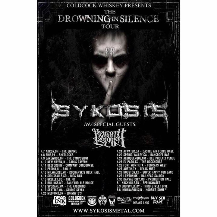 Sykosis Tour Dates