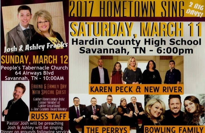 The Perrys @ Hardin County High School - Savannah, TN