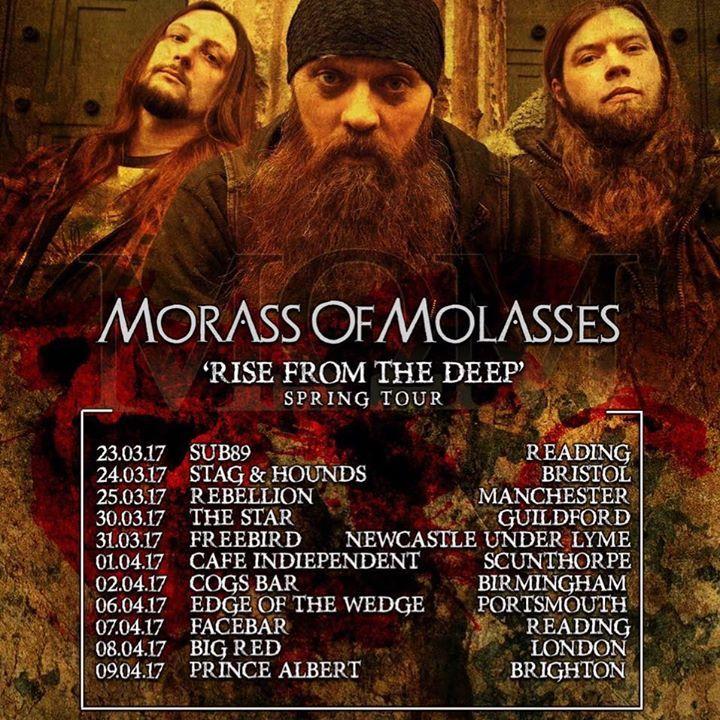 Morass Of Molasses Tour Dates