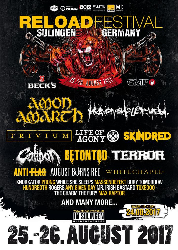 Any Given Day @ Reload Festival - Sulingen, Germany