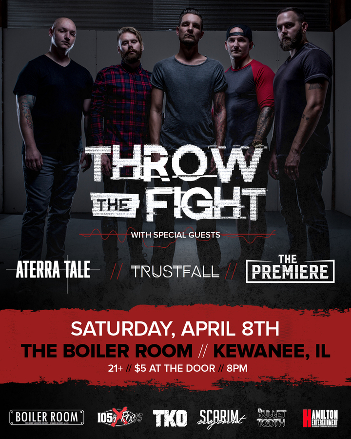 Throw the Fight @ The Boiler Room - Kewanee, IL