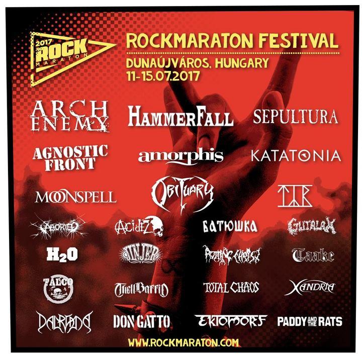Arch Enemy @ Rockmaraton Festival - Dunaújváros, Hungary